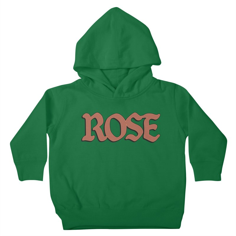 Logo T Kids Toddler Pullover Hoody by ROSEFinch's Artist Shop