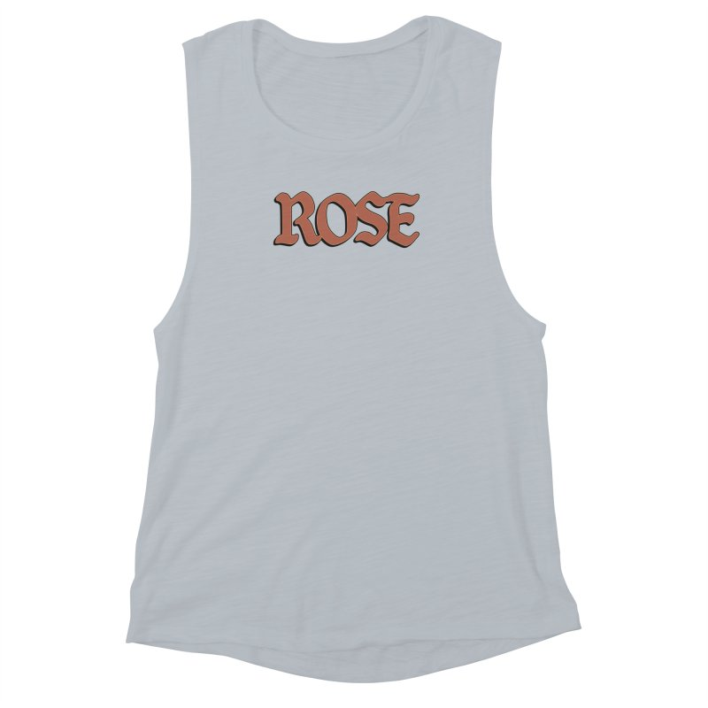Logo T Women's Muscle Tank by ROSEFinch's Artist Shop