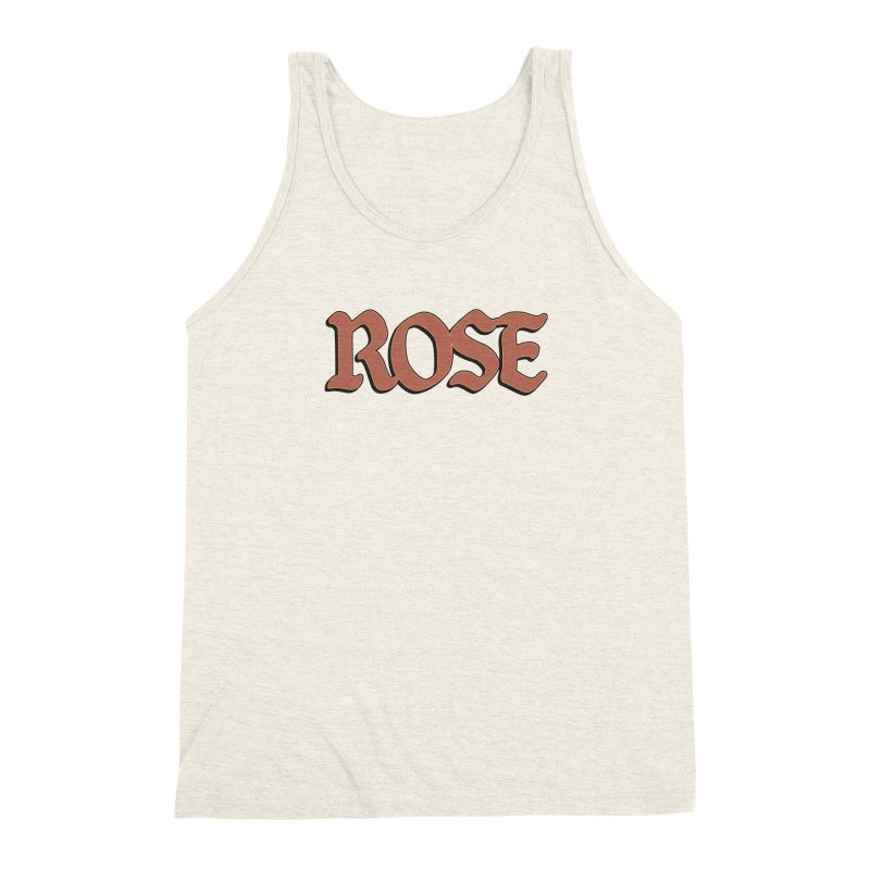 Logo T Men's Triblend Tank by ROSEFinch's Artist Shop