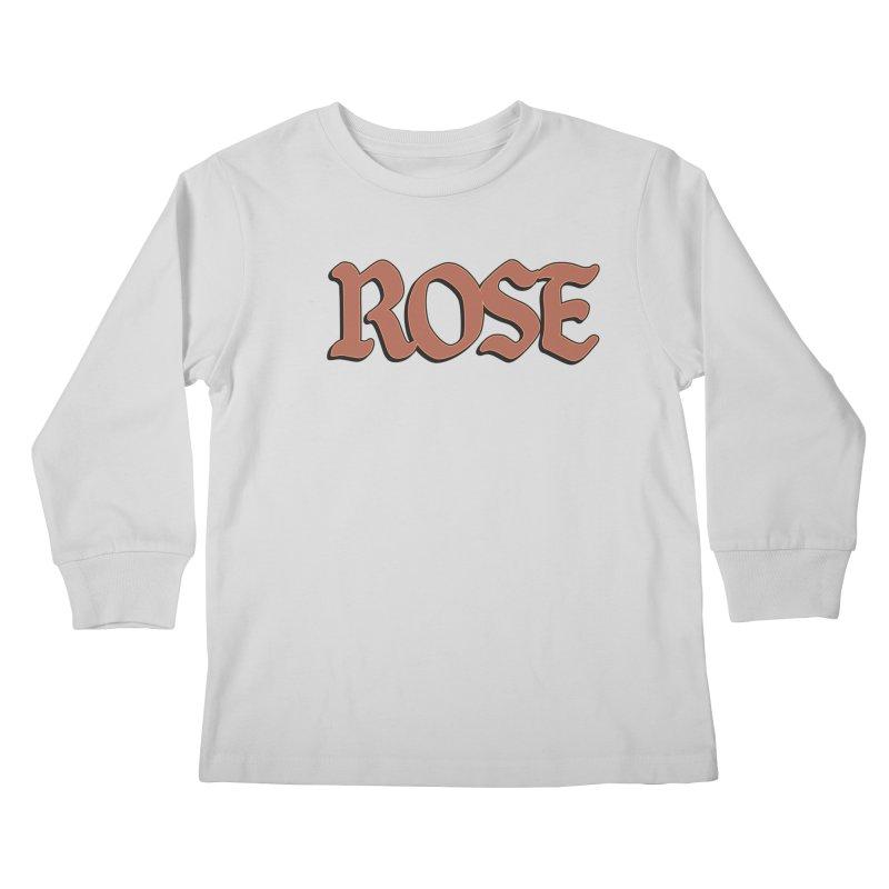 Logo T Kids Longsleeve T-Shirt by Rose