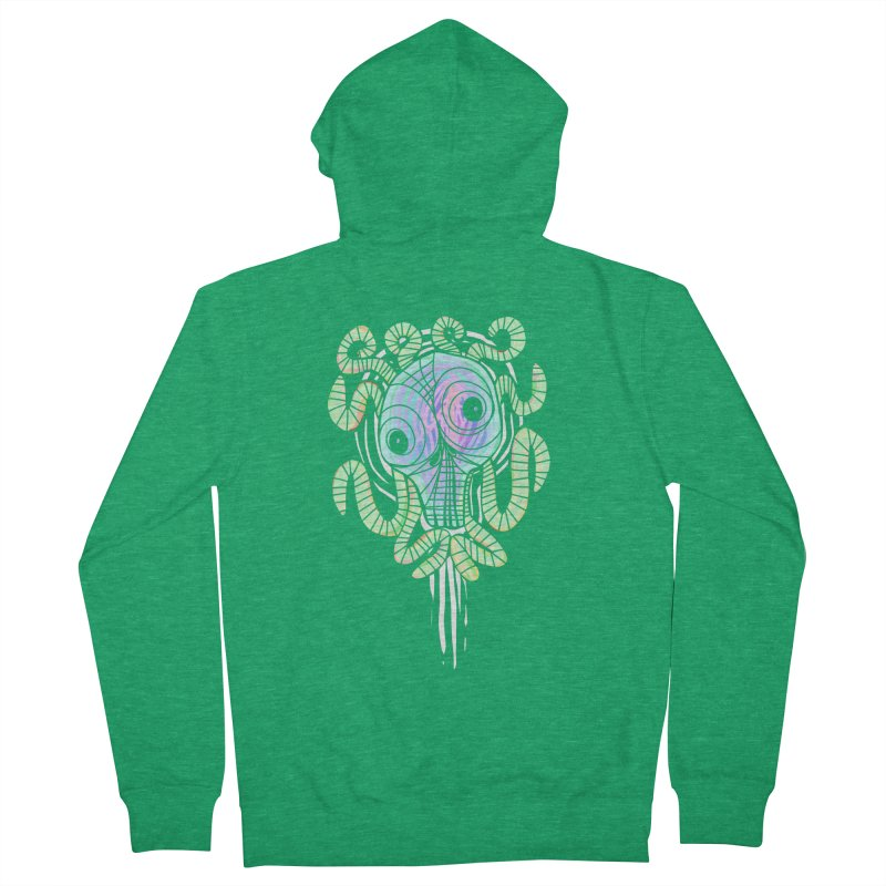 Tentacolourful Women's Zip-Up Hoody by The Fabulous Raabulous