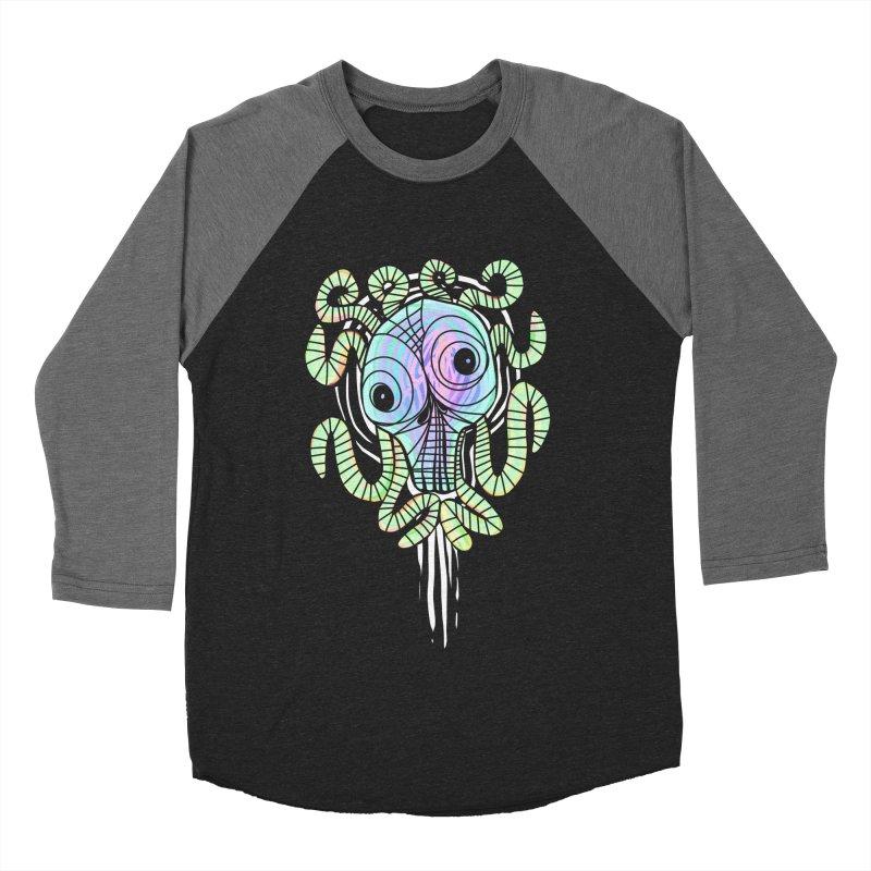 Tentacolourful Women's Baseball Triblend T-Shirt by The Fabulous Raabulous