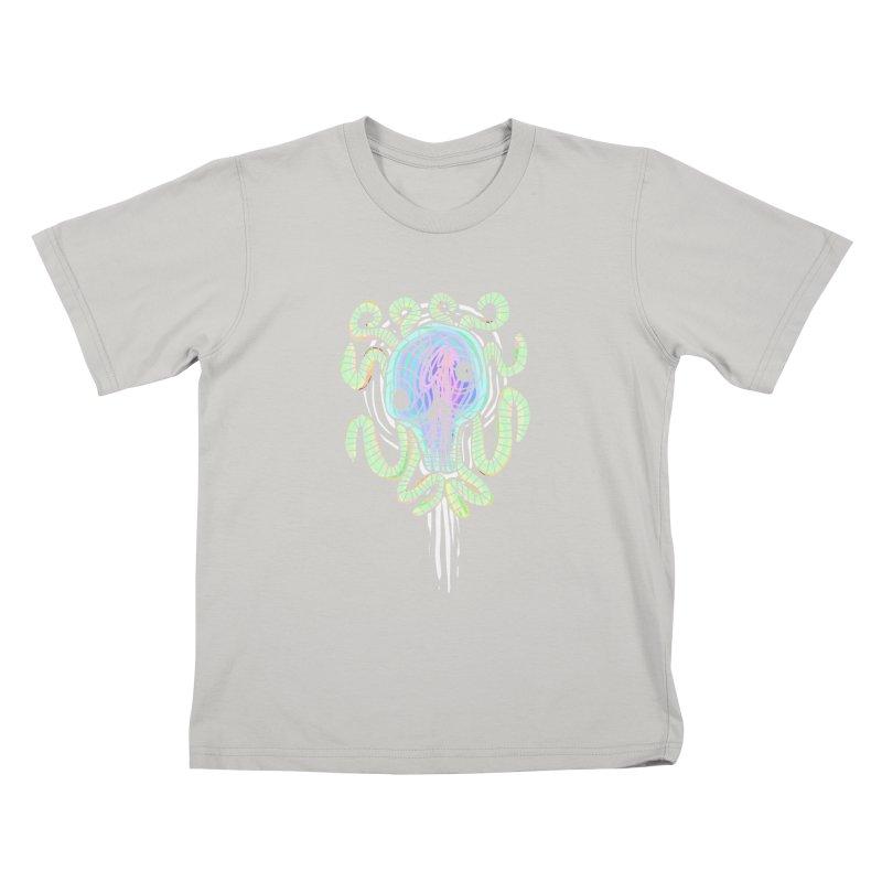 Tentacolourful Kids T-shirt by The Fabulous Raabulous