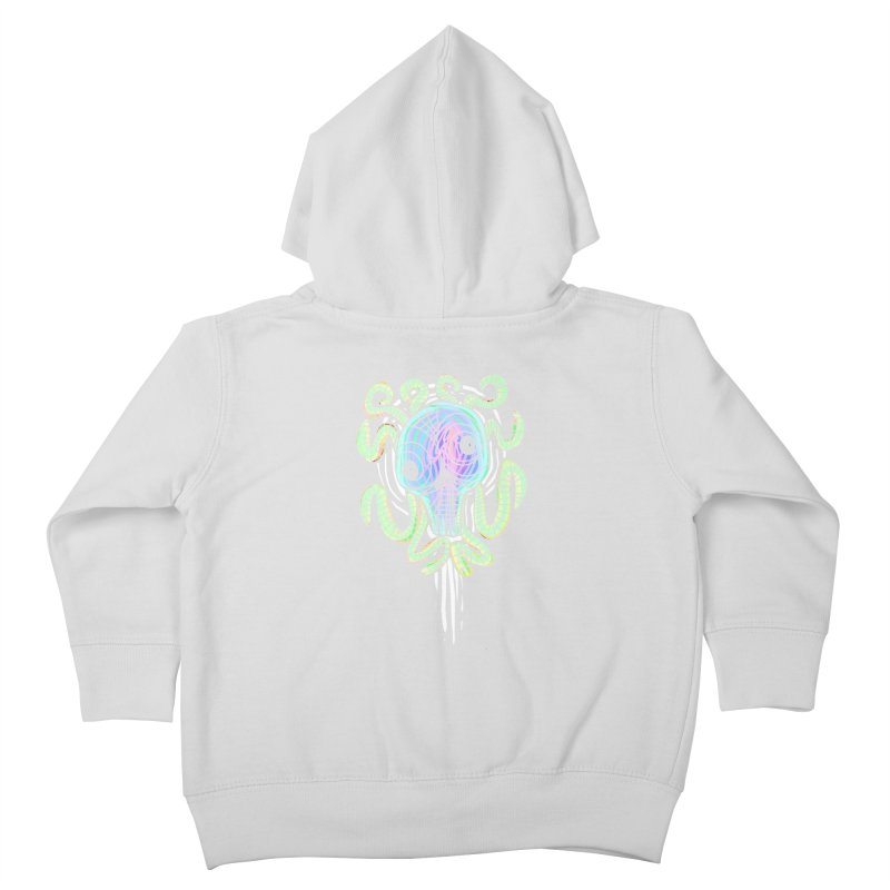 Tentacolourful Kids Toddler Zip-Up Hoody by The Fabulous Raabulous