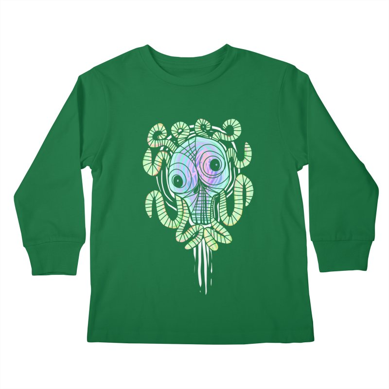 Tentacolourful Kids Longsleeve T-Shirt by The Fabulous Raabulous