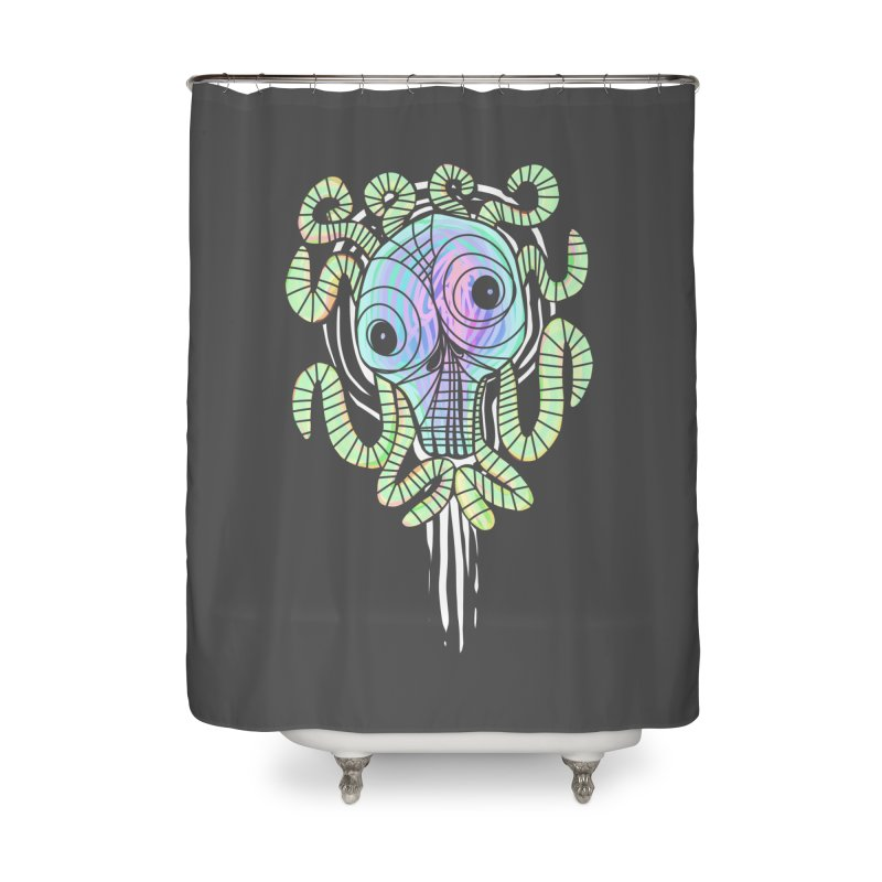 Tentacolourful Home Shower Curtain by The Fabulous Raabulous