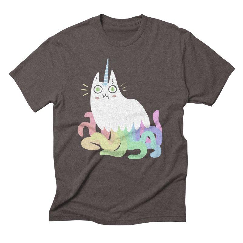 Tentacular Men's Triblend T-shirt by The Fabulous Raabulous