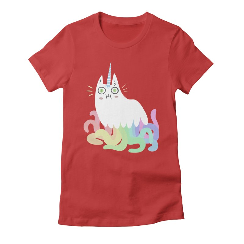 Tentacular Women's Fitted T-Shirt by The Fabulous Raabulous
