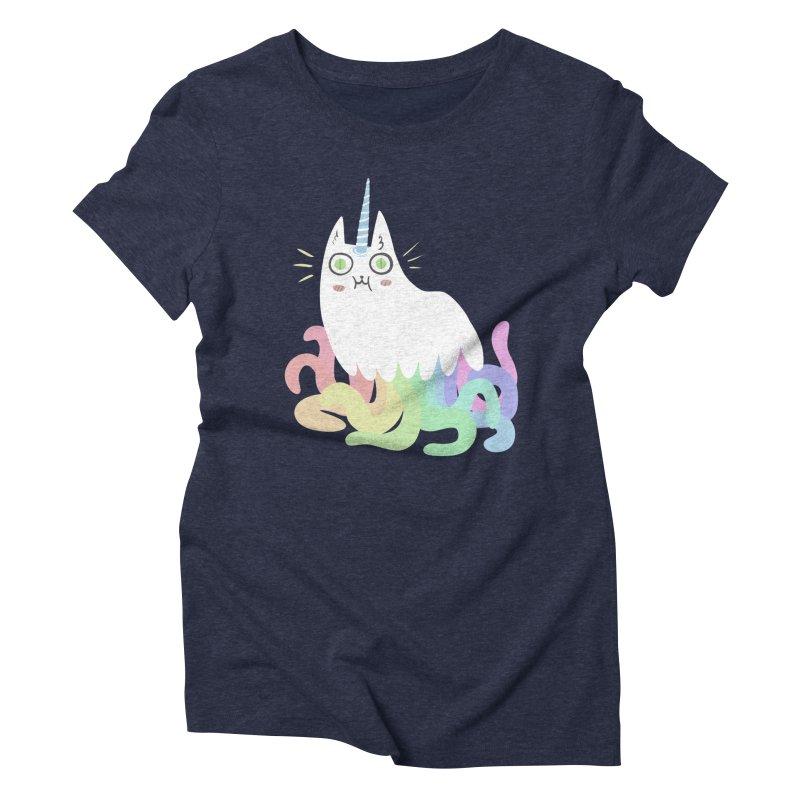 Tentacular Women's Triblend T-Shirt by The Fabulous Raabulous