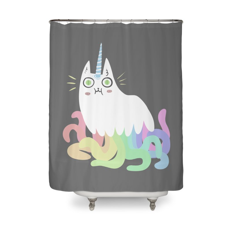 Tentacular Home Shower Curtain by The Fabulous Raabulous