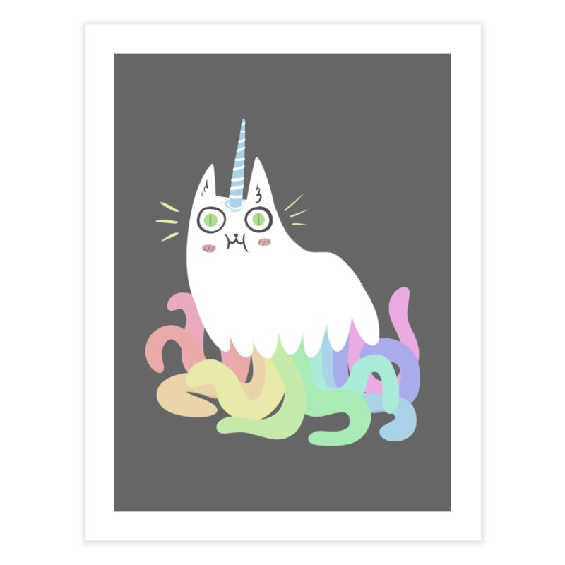 Tentacular Home Fine Art Print by The Fabulous Raabulous