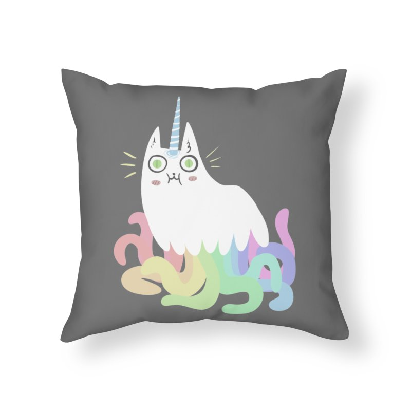 Tentacular Home Throw Pillow by The Fabulous Raabulous