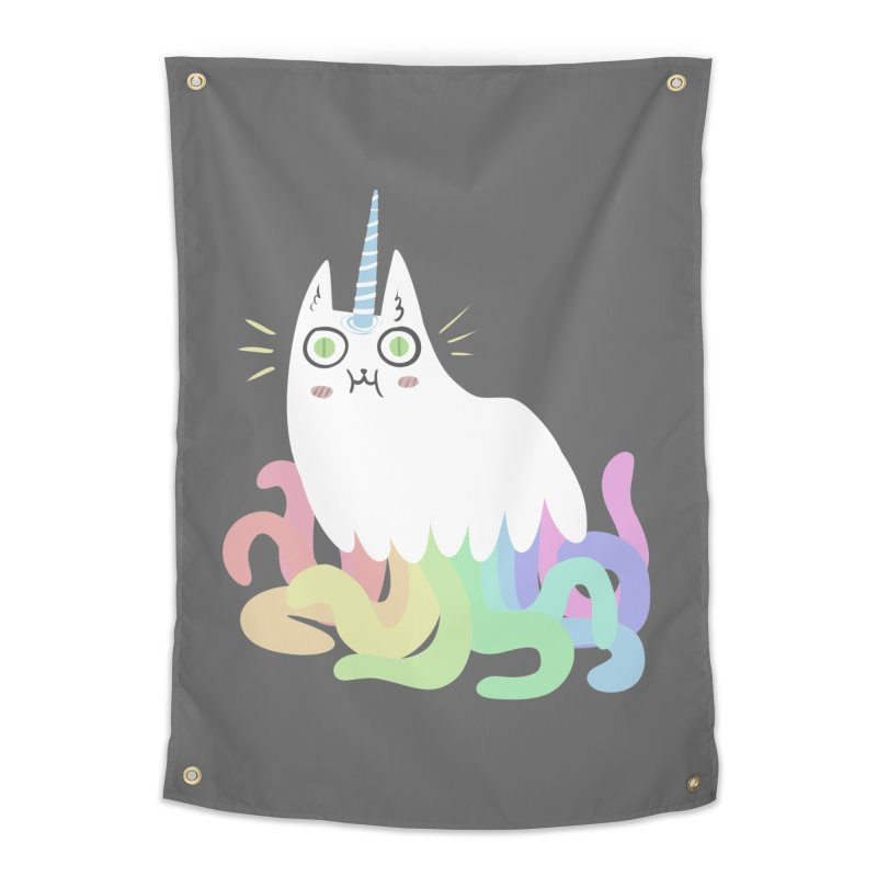 Tentacular Home Tapestry by The Fabulous Raabulous