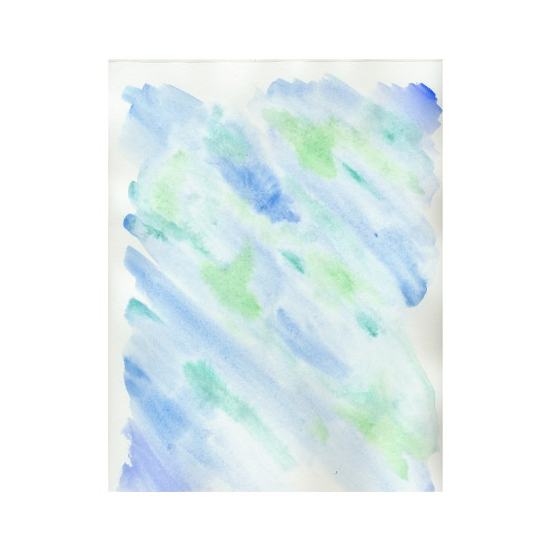 Pond Splash Watercolor Wash by Rachel Mambach Art Shop