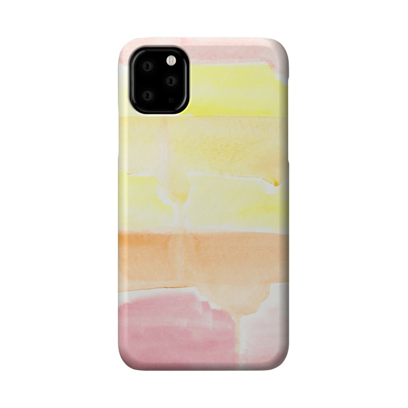 Summer Sunshine Watercolor Wash Accessories Phone Case by Rachel Mambach Art Shop