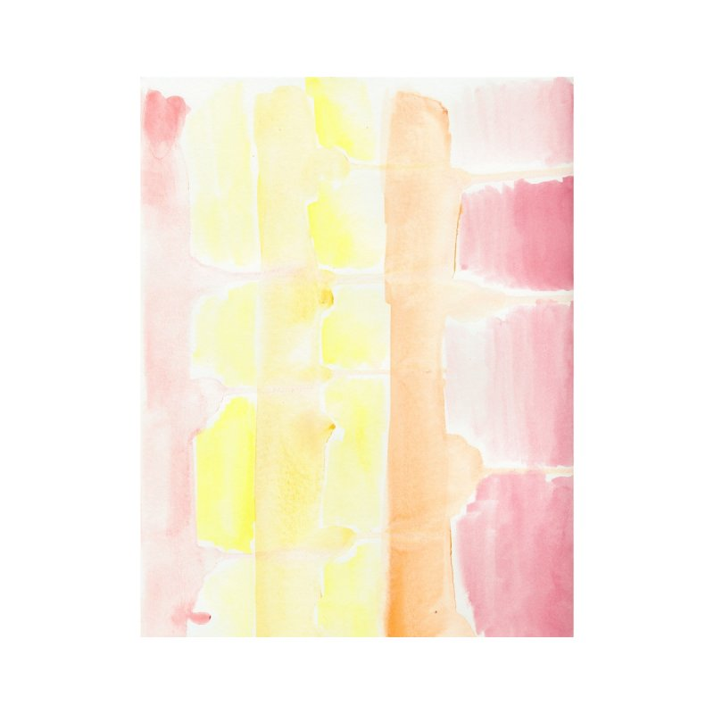 Summer Sunshine Watercolor Wash by Rachel Mambach Art Shop