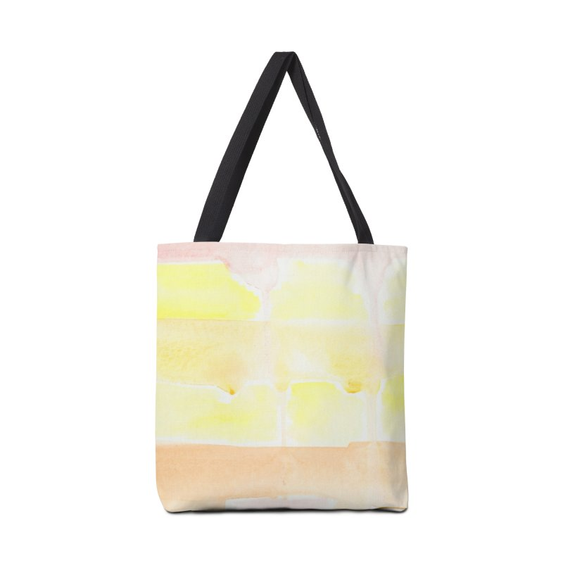 Summer Sunshine Watercolor Wash Accessories Tote Bag Bag by Rachel Mambach Art Shop