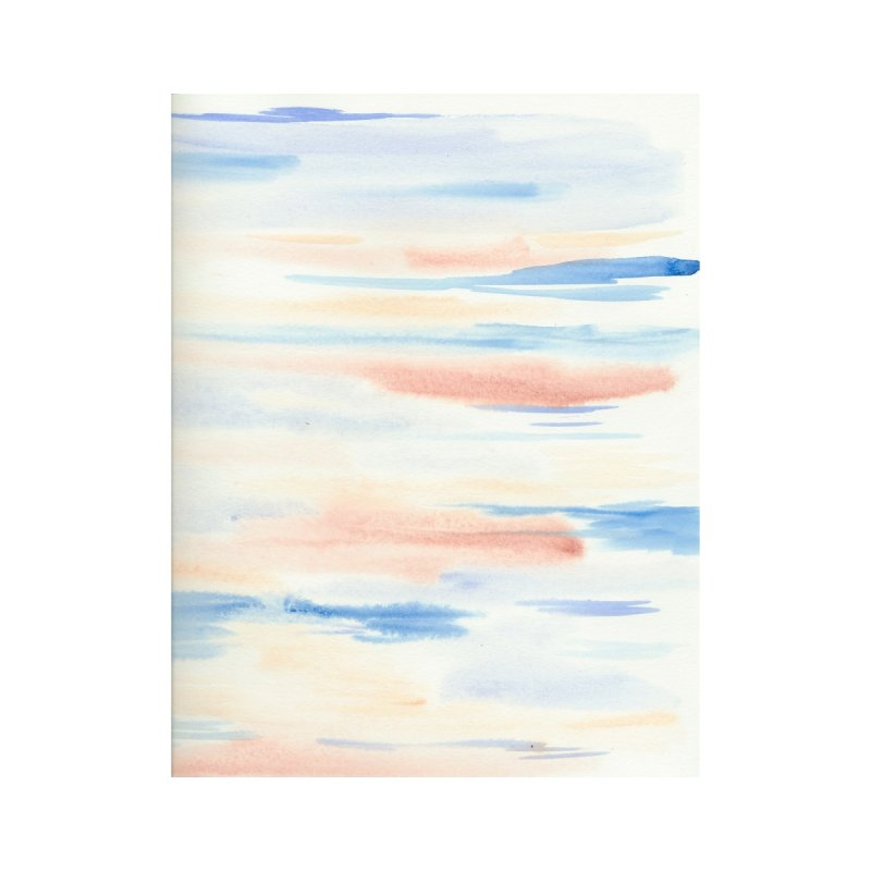 Sandy Sea Watercolor Wash by Rachel Mambach Art Shop