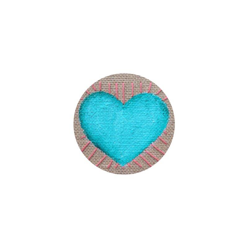 Aqua Heart (Women/Kids) Women's Pullover Hoody by Rachel Mambach Art Shop