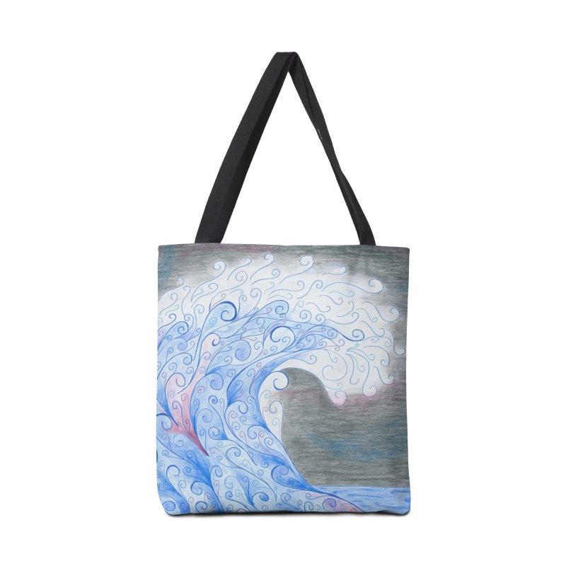 Serenity Accessories Bag by Rachel Mambach Art Shop