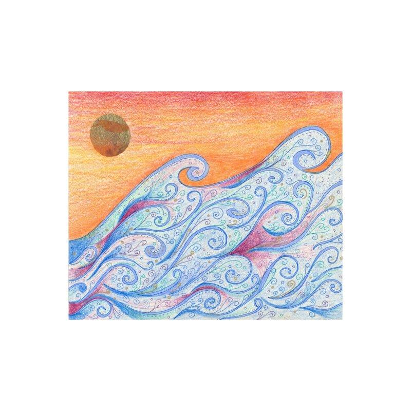 Sunset Surf Accessories Bag by Rachel Mambach Art Shop