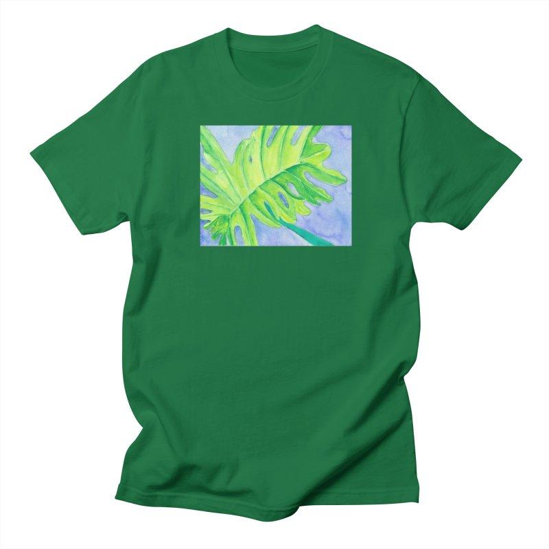 Lush Leaf Men's T-Shirt by Rachel Mambach Art Shop