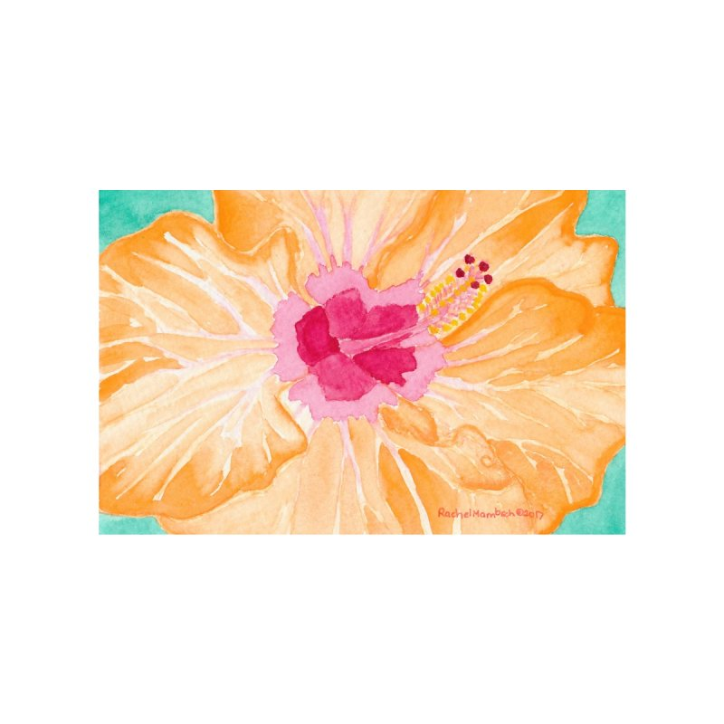 Hibiscus by Rachel Mambach Art Shop