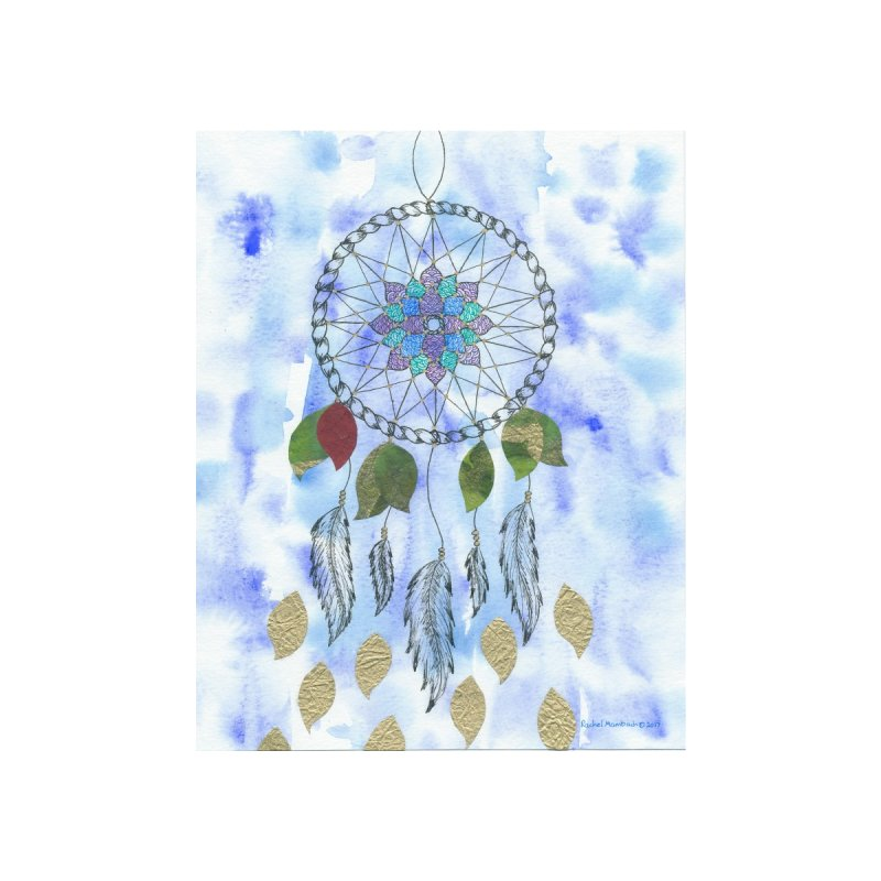 Floating Dream Catcher Accessories Bag by Rachel Mambach Art Shop