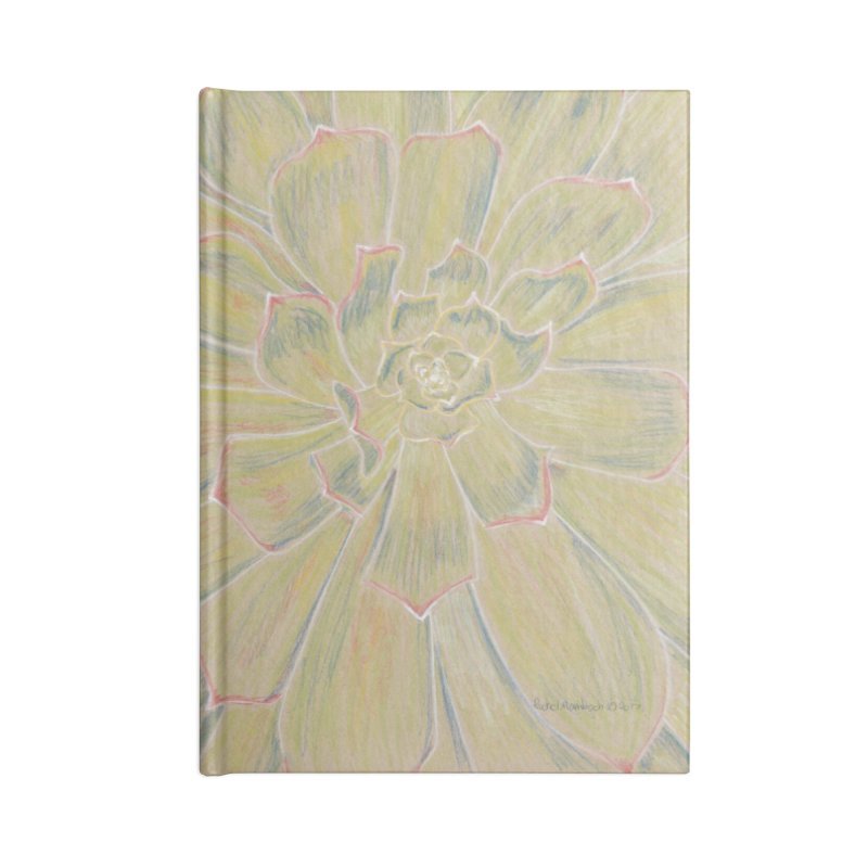 Super Succulent Accessories Blank Journal Notebook by Rachel Mambach Art Shop