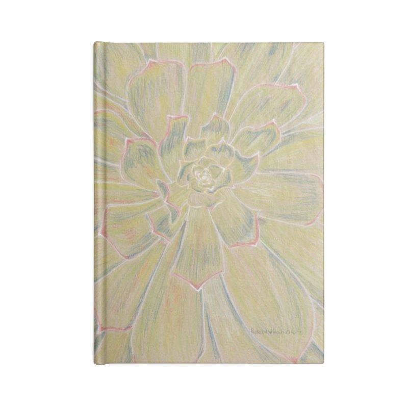 Super Succulent Accessories Notebook by Rachel Mambach Art Shop