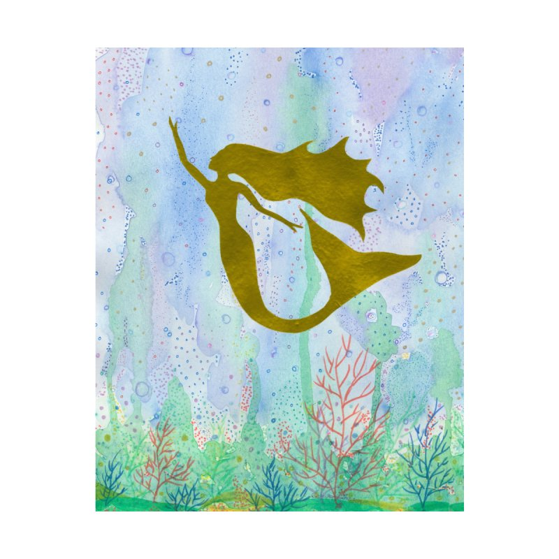 Miracle Mermaid Accessories Notebook by Rachel Mambach Art Shop