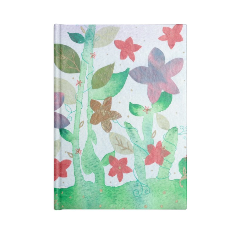 Spring Fling Accessories Blank Journal Notebook by Rachel Mambach Art Shop
