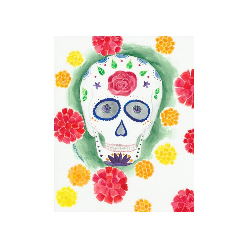 Calavera by Rachel Mambach Art Shop