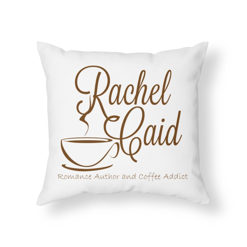 RC Logo Home Throw Pillow by Rachel Caid