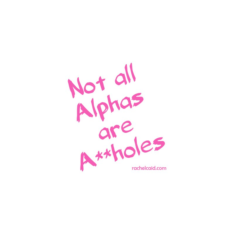 Alphas - Pink Ink Men's Tank by Rachel Caid