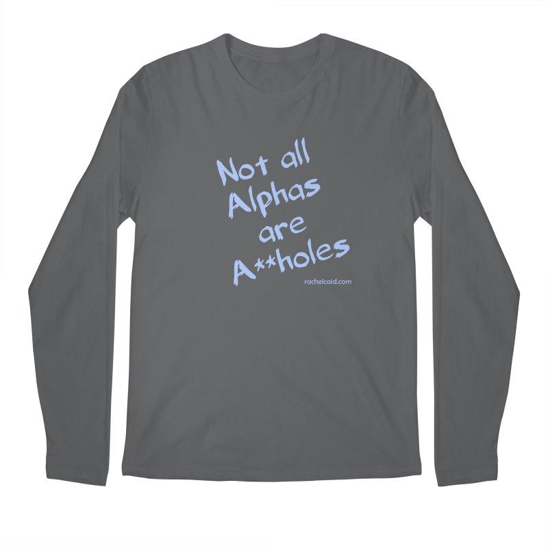 Alphas - Blue Ink Men's Longsleeve T-Shirt by Rachel Caid