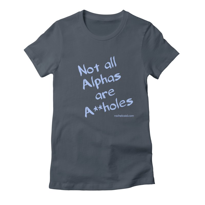 Alphas - Blue Ink Women's T-Shirt by Rachel Caid