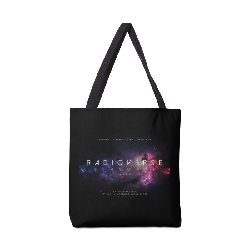Season 2 Space Poster Landscape Accessories Bag by Radioverse Podcast