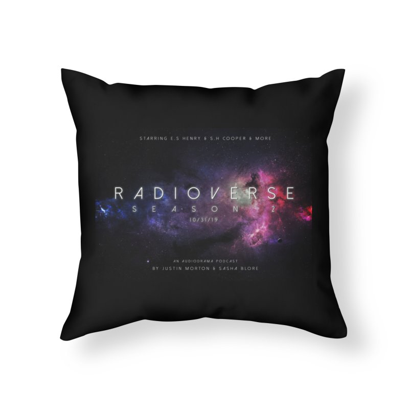 Season 2 Space Poster Landscape Home Throw Pillow by Radioverse Podcast