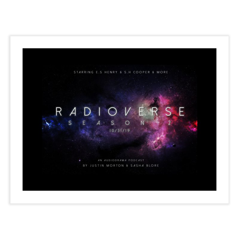 Season 2 Space Poster Landscape Home Fine Art Print by Radioverse Podcast