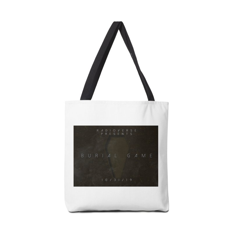 Burial Game Cover Art Accessories Bag by Radioverse Podcast