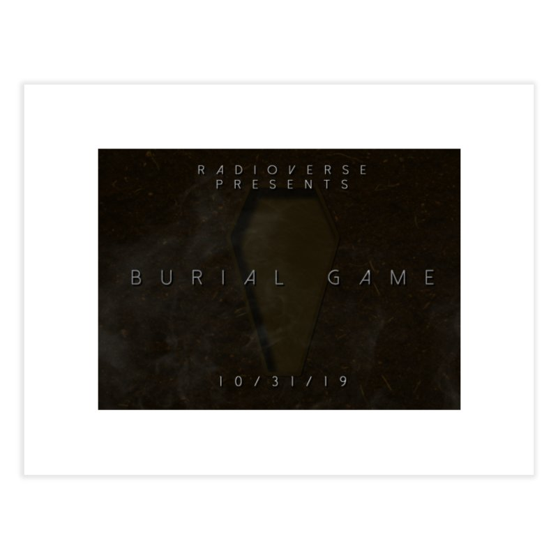Burial Game Cover Art Home Fine Art Print by Radioverse Podcast