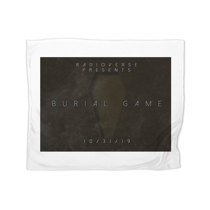 Burial Game Cover Art Home Blanket by Radioverse Podcast