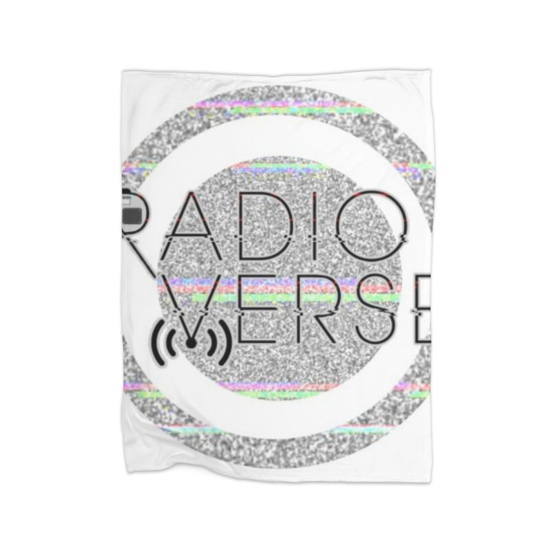 Radioverse Logo Home Blanket by Radioverse Podcast
