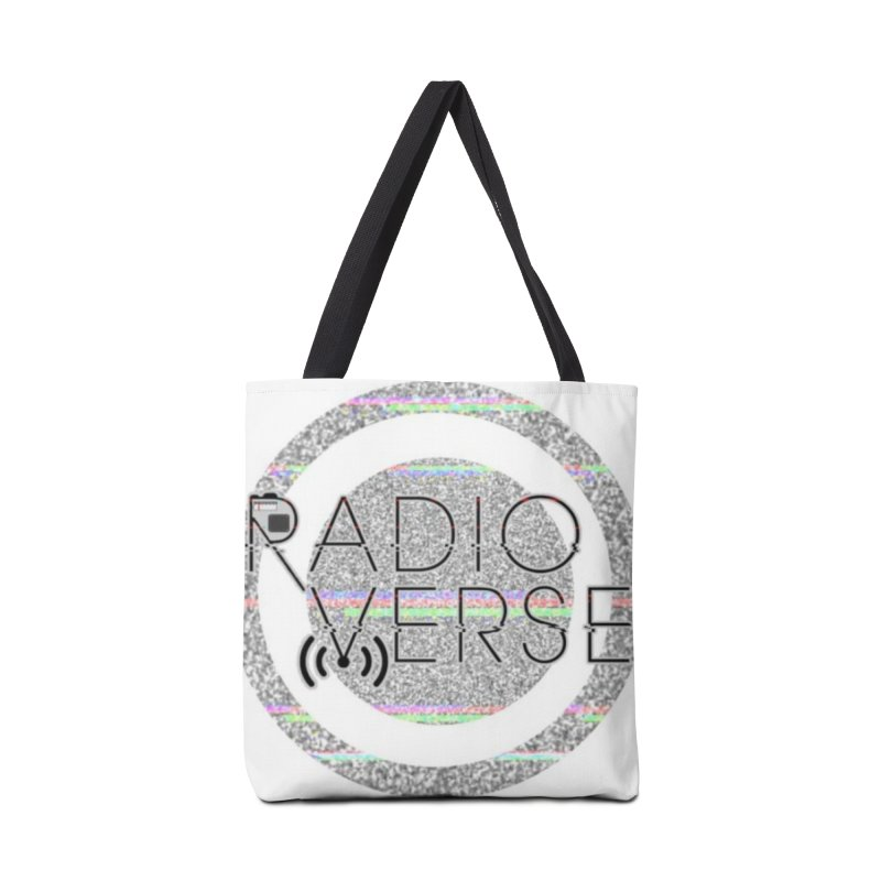 Radioverse Logo Accessories Bag by Radioverse Podcast