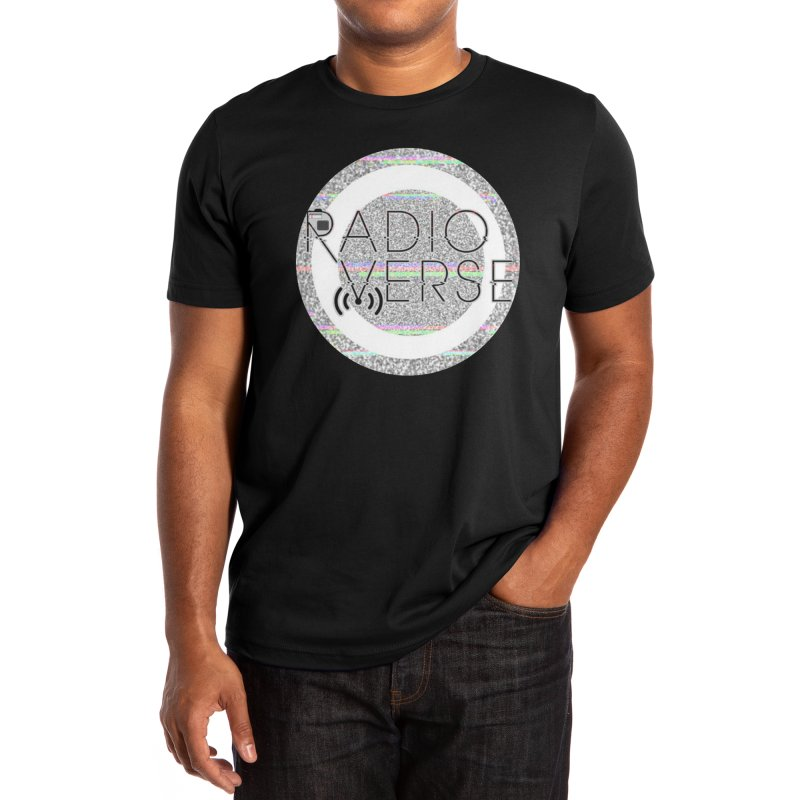 Radioverse Logo Men's T-Shirt by Radioverse Podcast