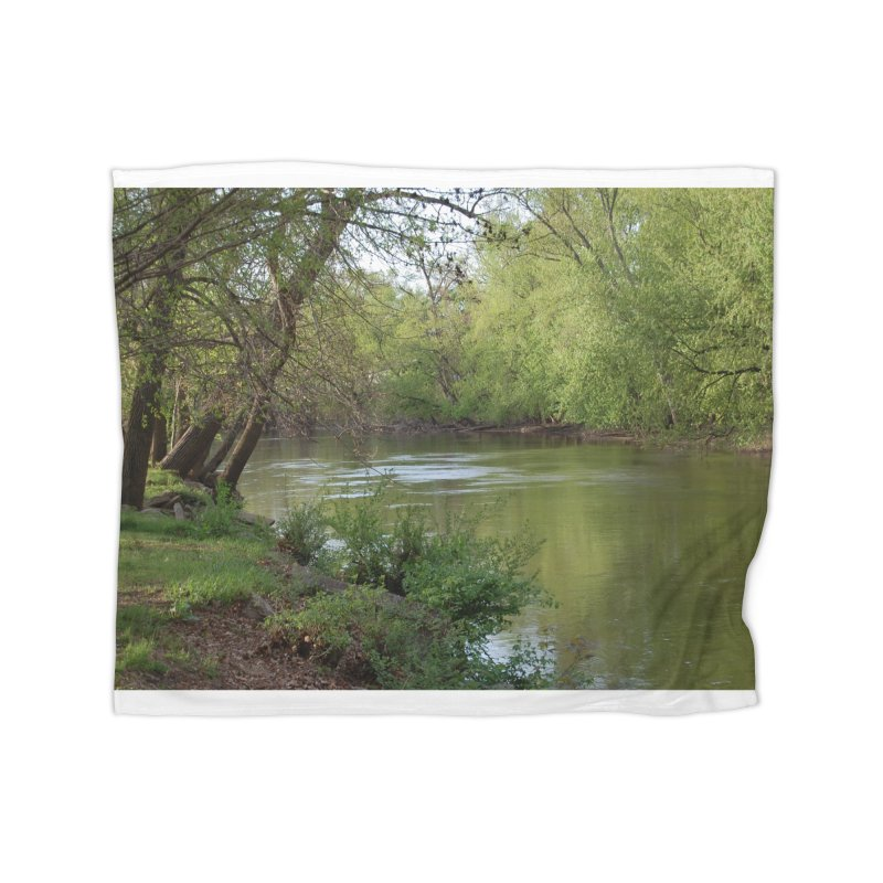 River of Memories Home Blanket by The Outrider Outpost