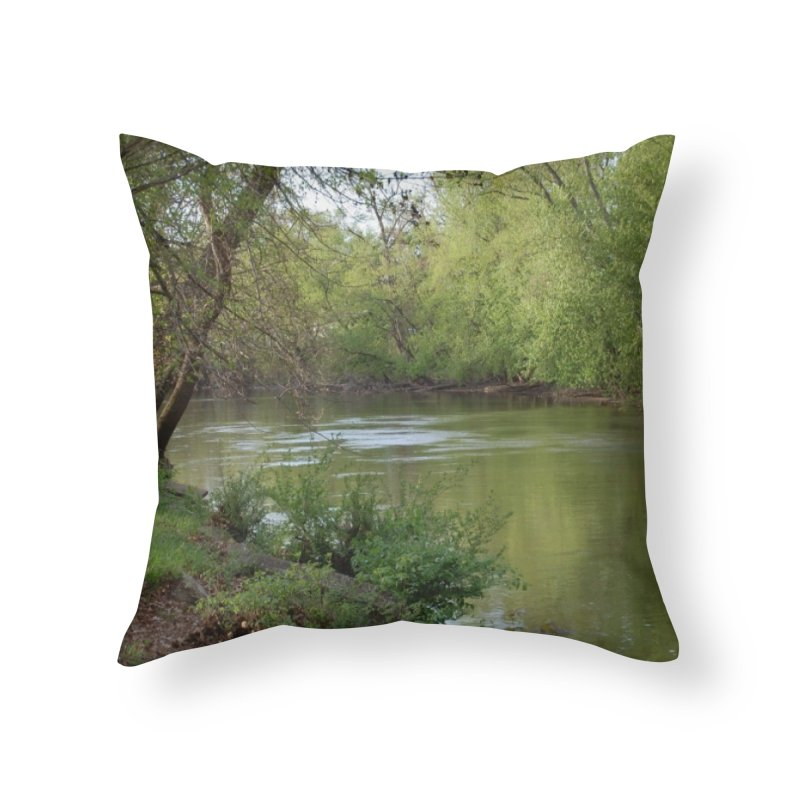 River of Memories Home Throw Pillow by The Outrider Outpost