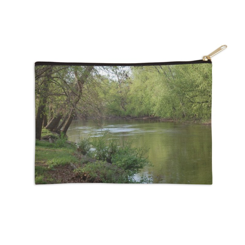 River of Memories Accessories Zip Pouch by Ralph's Creations