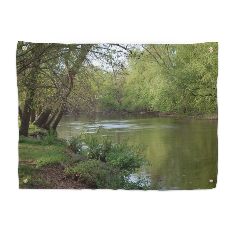 River of Memories Home Tapestry by The Outrider Outpost